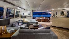 AQA boat Sydney interior
