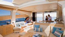 Aquabay boat interior Sydney