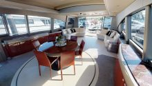 Ghost yacht interior