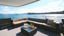 Karisma boat Sydney lounge