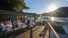 Cottage Point Inn seaplane