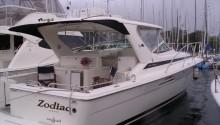 Zodiac boat charter Sydney