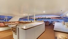 Corroboree boat sydney top deck