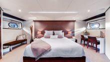 Corroboree boat sydney main bedroom