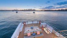 Corroboree boat top deck
