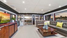 Corroboree boat interior
