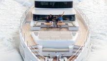 OneWorld Boat cruising front