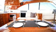 Coco boat Sydney dining table