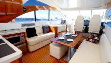 Coco boat interior