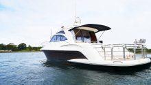 Coco boat rear deck