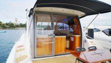 Coco boat back deck