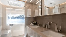 OneWorld cabin bathroom