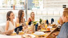 OneWorld rear deck dining